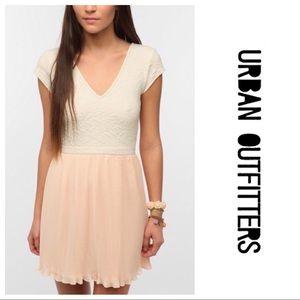 Pins and Needles Blush Dress